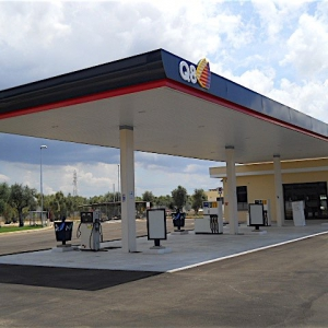 Fuel service station, Casarano (LE), Italy