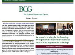 16th June 2015 – Erhan Çakar, Chairman of BFP Enerji contributes in 6th Turkey Wind & Solar Energy Forum as a panelist
