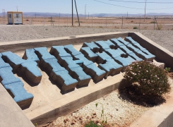 BFP Maghreb designed a R&D CPV plant in the Moroccan desert